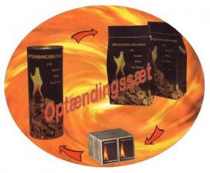 Billig brænde optæningsæt