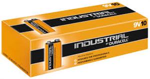 9v duracell batterie