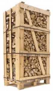Billig brænde ovntørret birk