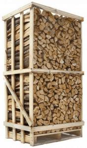 Billig brænde ovntørret blandet løvtræ